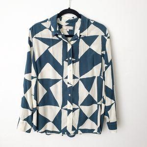 Loft Button Down Shirt size XL
